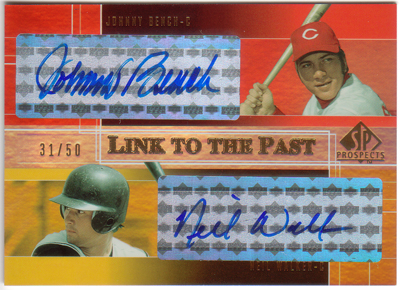 johnny bench cards. Black Bedroom Furniture Sets. Home Design Ideas